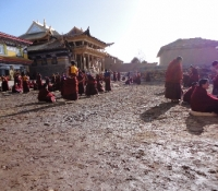 A third before picture that inspired YYEF's charitable project in 2012 at Langyi Monastery.