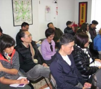 """Attentive audience at the """"Readings on the 2013 Year of the Snake"""" free lecture."""